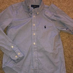 Ralph Lauren polo long sleeve BD boys size 10